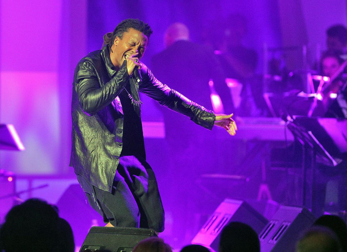 Lupe Fiasco at Chicago Voices. (Cory Weaver, courtesy Lyric Opera of Chicago)