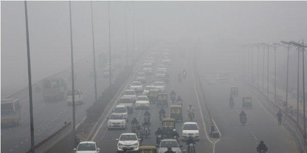 Smog in New Delhi in November 2017
