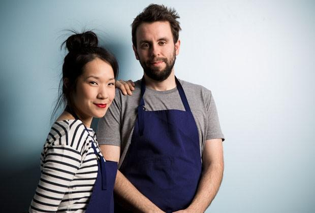 Chefs Beverly Kim and Johnny Clark of Chicago's Parachute