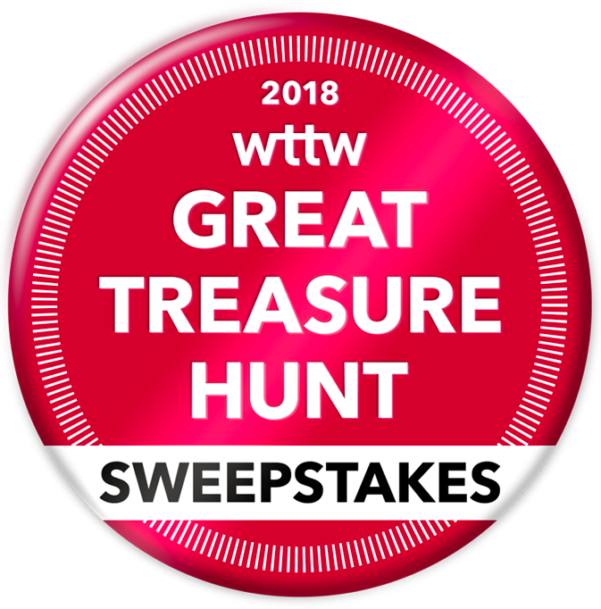 2018 WTTW Great Treasure Hunt Sweepstakes