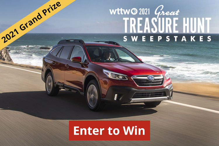Time is running out to enter WTTW Great Treasure Hunt Sweepstakes