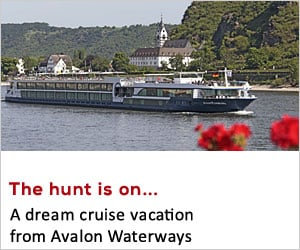 Featured Prize: Avalon Waterways
