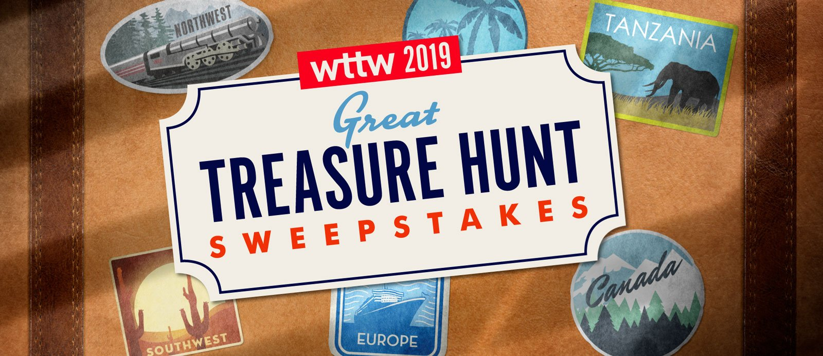 2019 WTTW Great Treasure Hunt Sweepstakes