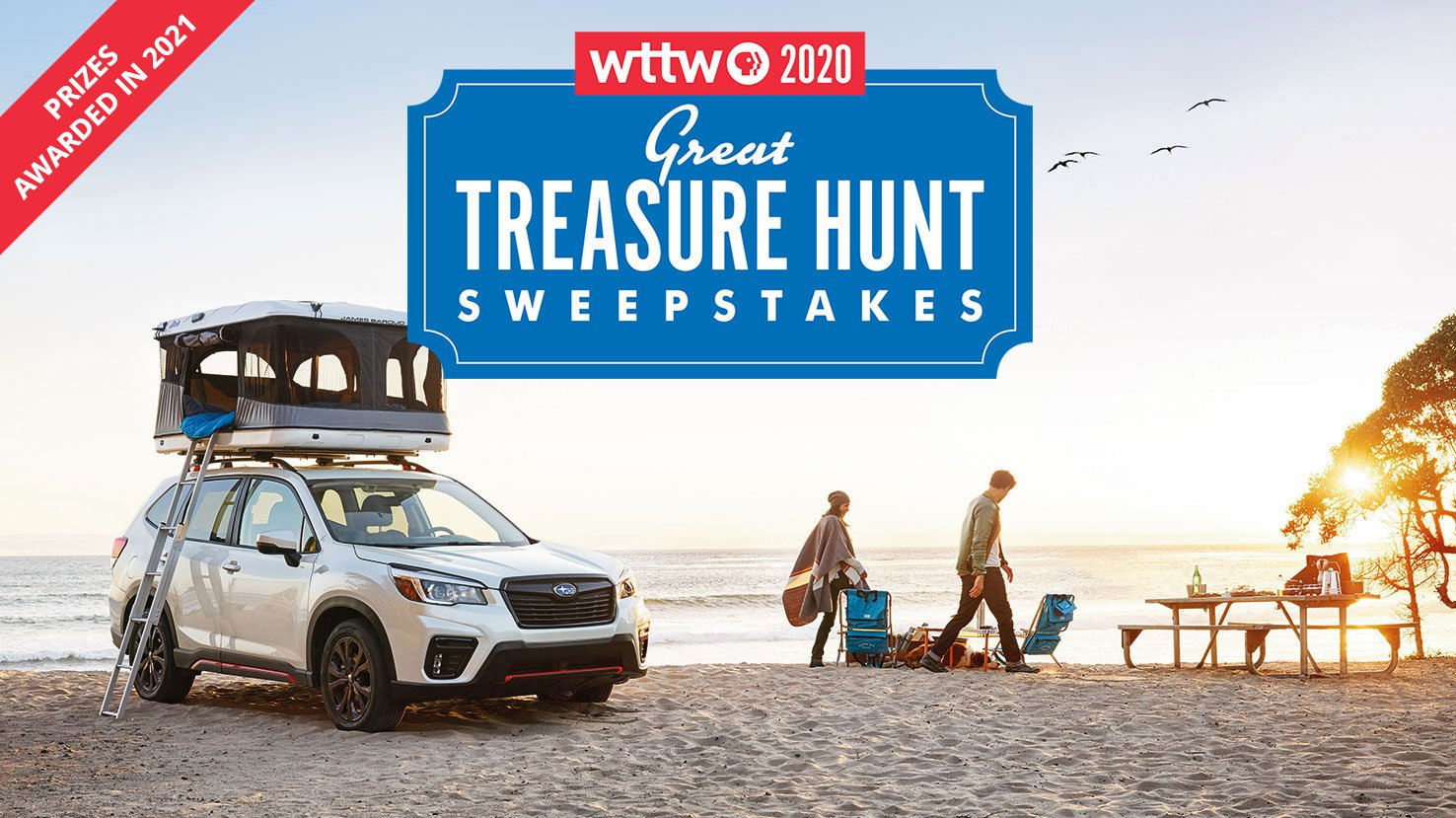 2020 WTTW Great Treasure Hunt Sweepstakes