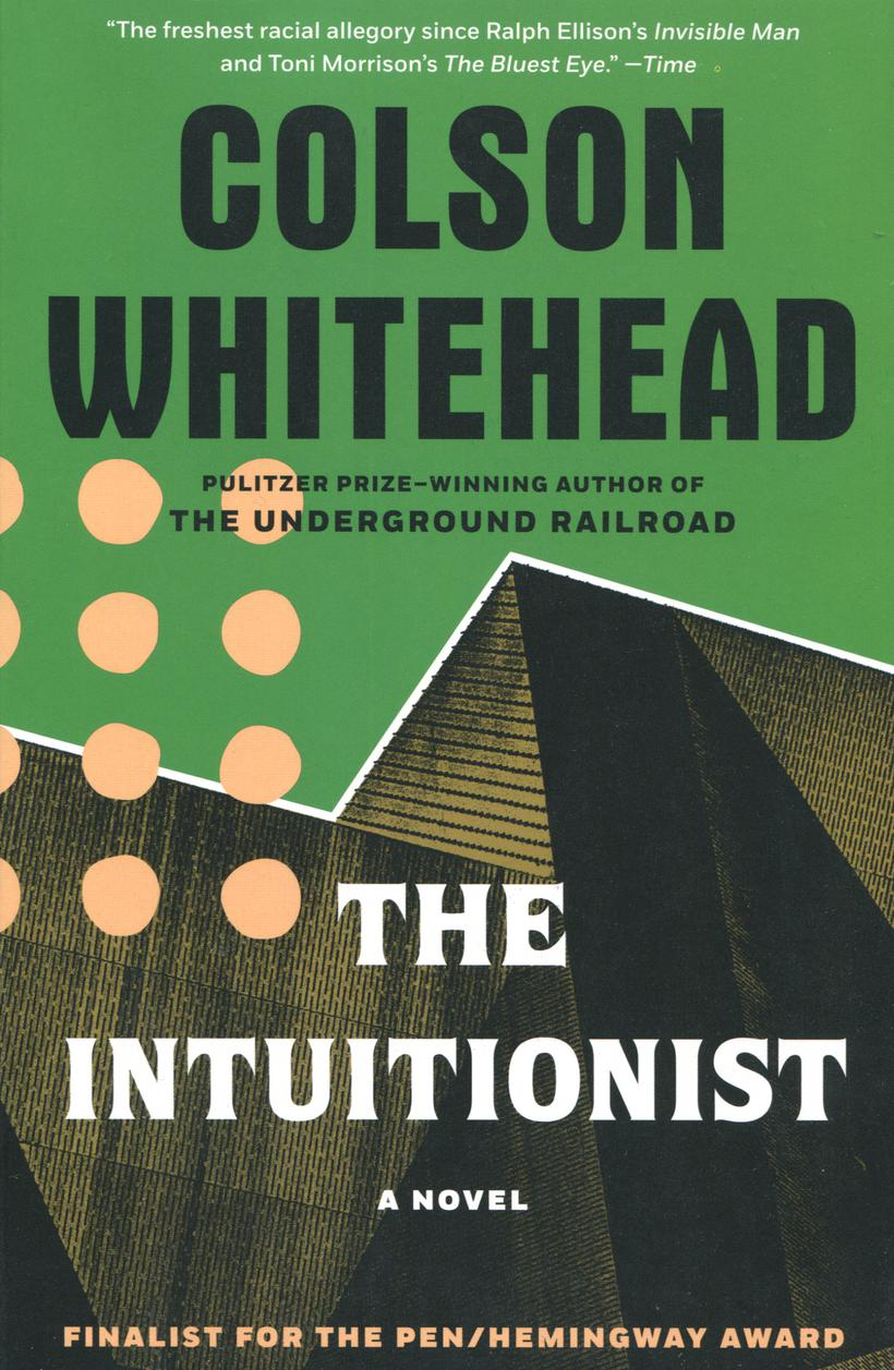 The Intuitionist cover