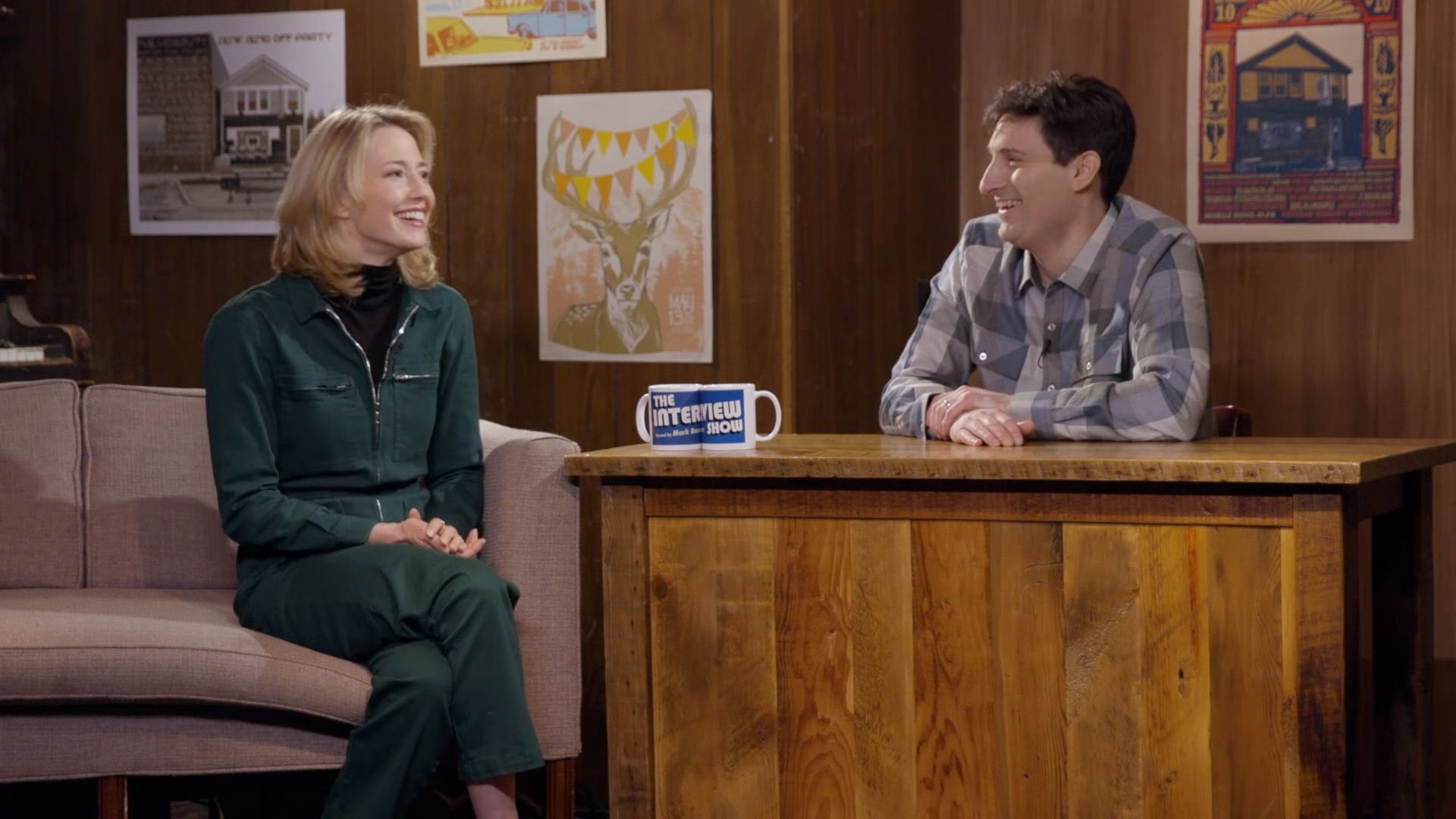 Carrie Coon, Sima Cunningham & Macie Stewart   The Interview Show