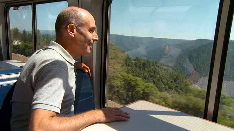 A Modern Ride on the Transcontinental Railroad
