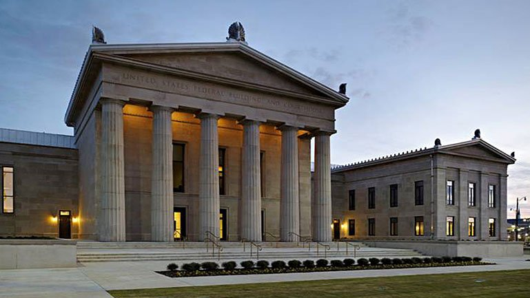 Federal Building Services : Tuscaloosa federal building and courthouse wttw chicago