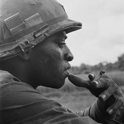 Soldier of the 25th Infantry Division, c., 1969. Photo: Charles O. Haughey