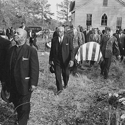 Funeral of a soldier killed in Vietnam. South Carolina, 1966. Photo: Constantine Manos/Magnum Photos